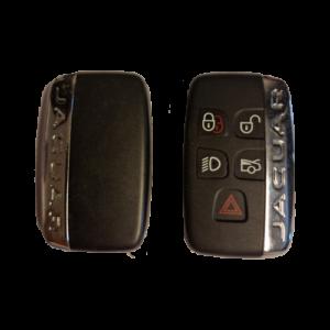 Jaguar-OEM-Smart-Nøkkel-Knapper-4+1