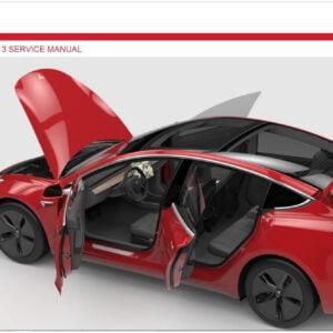Tesla Verkstedhåndbok model 3-s-x